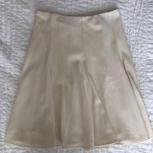White House Black Market Flare Midi Skirt 0